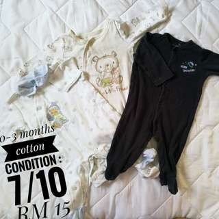 Sleepsuits (0-3 Months)