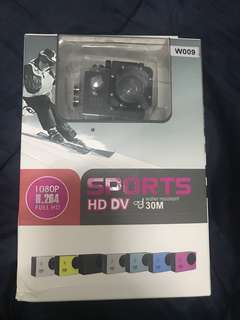 1080p Sports HD DV 5mp Action water proof camera