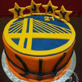 Great State Warrior Cake