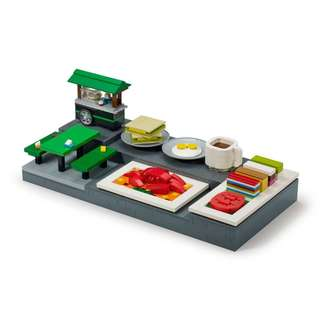 Lego Singapore Food Culture Mini Builds Cities of wonders