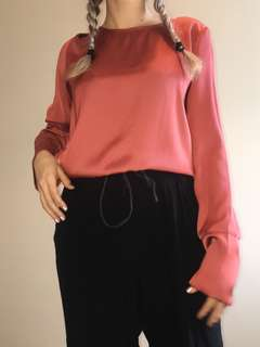 Pink long sleeve top -Glassons