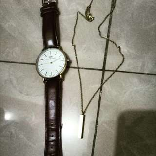 Take all DW watch &  necklace for 149