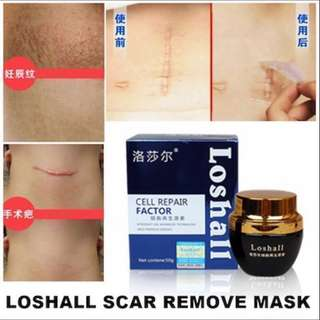‼️ 3 DAYS LEFT!! PROMO ENDS ON 27/3, LOSHALL SCAR REPAIR/REMOVE PEEL OFF MASK 🙏🏻💯