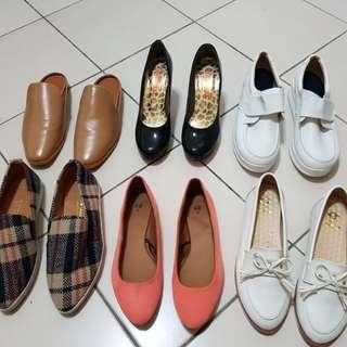 懶人鞋懶人拖鞋護士鞋高跟鞋