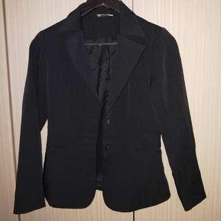 🚚 🔆西裝外套(黑色條紋)