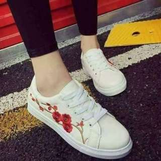 Flower Rubber shoes