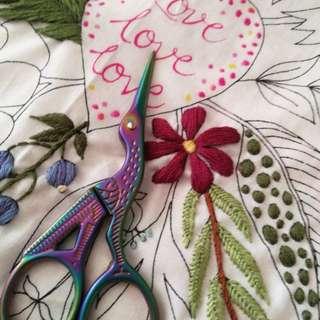 Crane design craft scissors