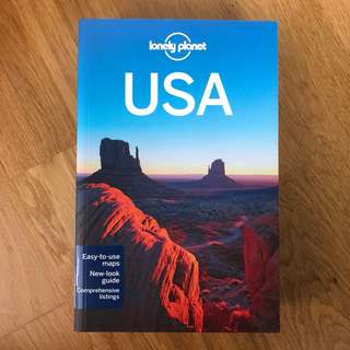 USA Travel Guide Book by Lonely Planet (2012)
