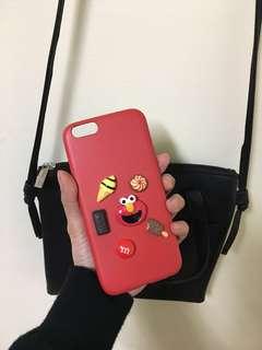 立體芝麻街iphone6s手機殼/硬殼