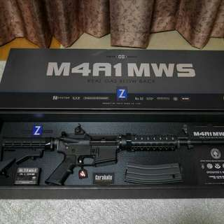 Airsoft GBB M4A1-MWS (Zet System)
