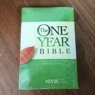 The One Year Bible (New International Version)