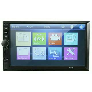 "$99 🔥🔥🎆🎇🎉 FLASH SALE! 🎉🎇🎆🔥🔥 Car Entertaiment Player 7"" 12V Input SD Card USB AUX In"