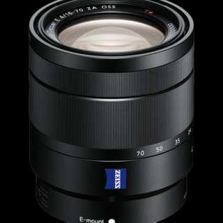 Sony E 16-70mm f4 ZA OSS Lens Vario-Tessar T* Kredit mudah