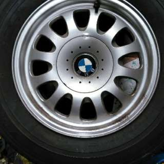 BMW RIMS x 4 pcs