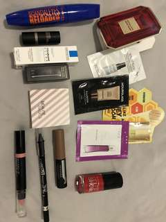 Mixed makeup bundle