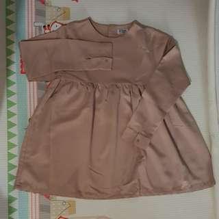 Long sleeve shirt - Coklat Susu