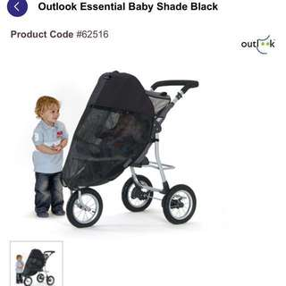 Baby stroller shade - sun visor UPF50+ / protect from insects #PriceReduced