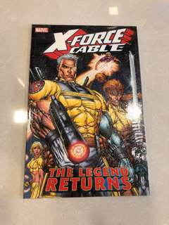 X-Force Cable - The Legend Returns #1-6