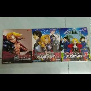 Full Metal Alchemist DVDs