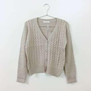 lower farm日系森林系專櫃品牌針織長袖外套