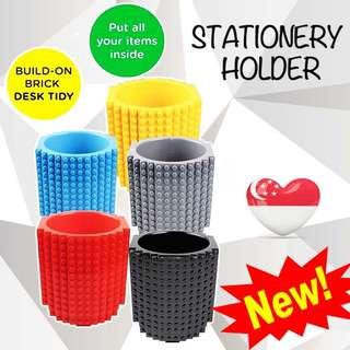 🔴FIRE SALE🔴 Build-on Brick Stationary Holder / pen holder