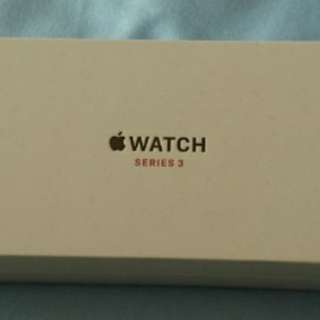 全新未開封100%new Apple Watch series 3