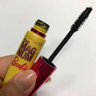 The magnum barbie mascara
