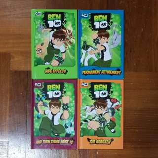 Ben 10 Comic Books