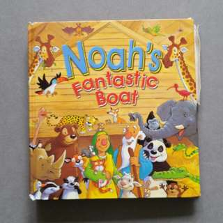 Noah's Fantastic Boat - popup book