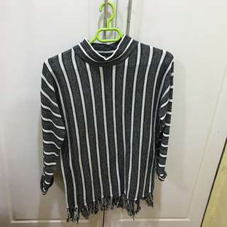 Long Sleeves and Turtle Neck Top - US Brand