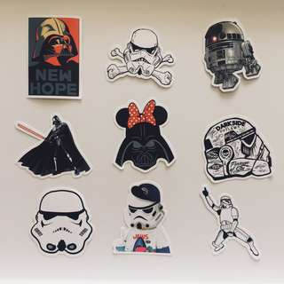 More Star Wars Stickers