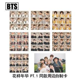 BTS HYYH PT 1 UNOFFICIAL PHOTOCARDS