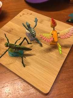 昆蟲造型夾
