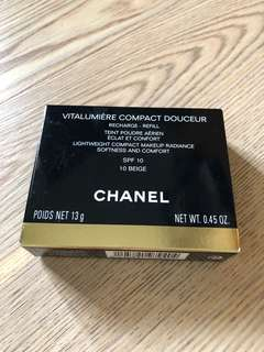 Chanel 活力光采雪紡水潤粉芯 全新未拆
