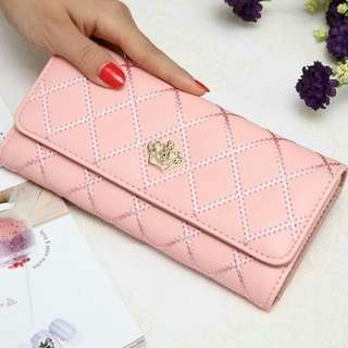 JESLYN WALLET SOFTPINK