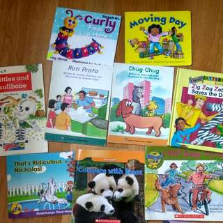 $1 sale storybooks must take all 9 for $9 includes scholastic mindchamps etc no nego no pics no refund