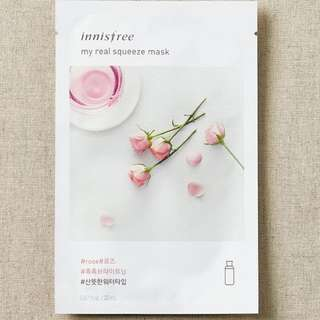 Innisfree My Real Squeeze Mask (Rose)