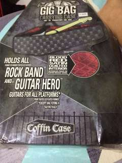 Guitar  case bag for guitar hero