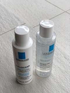 La Roche Posay Makeup Cleanser and Dermi Cleanser 50ml