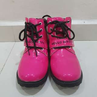 👍HELLO KITTY GIRLS BOOTS