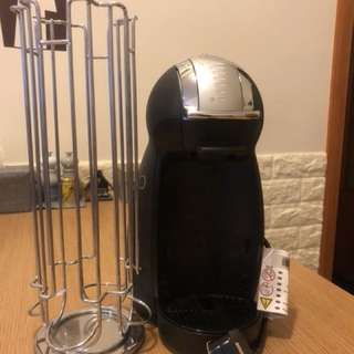 Nescafé Dolce Gusto and rotative capsule holder