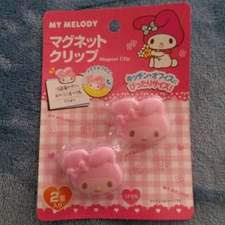 My Melody magnet paper clip