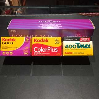Kodak 35mm Films