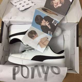 BTS x PUMA COURT STAR SNEAKERS