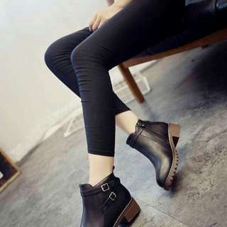 Leather boots(5-8)
