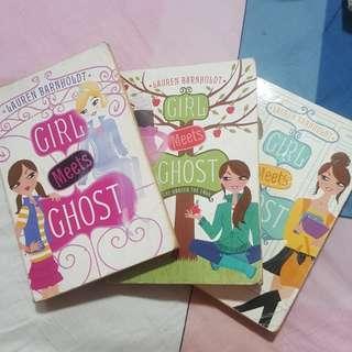 Girl Meets Ghost By Lauren Barnholdt
