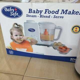 Baby safe baby food maker steam,blend,serve