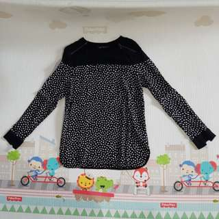 M&S Long sleeve shirt - black