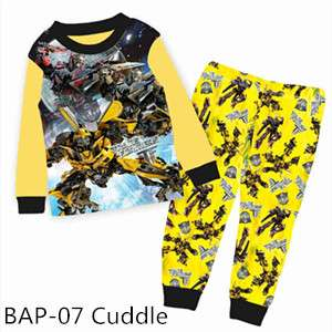 Transformer Long sleeve Pajamas