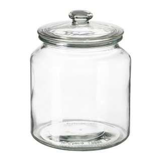 Glass Jar with Lid(IKEA)